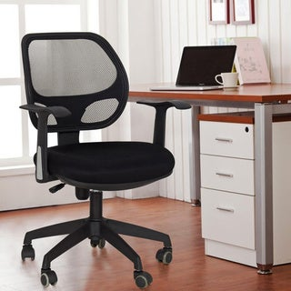 Deluxe Black Adjustable Office Chair