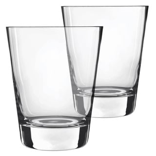 Luigi Bormioli Duos Double-wall Old Fashioned 10-ounce Glasses (Set of 2)