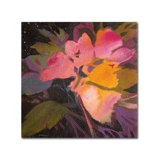 Sheila Golden 'Star Garden' Canvas Art