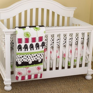 Cotton Tale Hottsie Dottsie 7-piece Crib Bedding Set