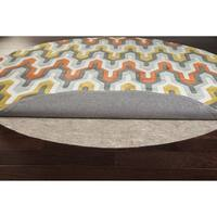 Ultra Premium Felted Reversible Dual Surface Non-Slip Rug Pad (3' Round) - 4'/3'
