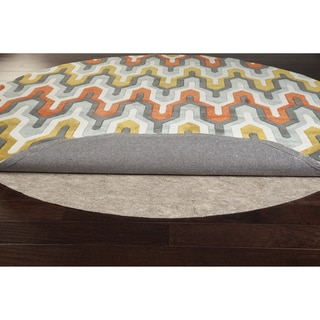 Ultra Premium Felted Reversible Dual Surface Non-Slip Rug Pad-(6'x9' Oval)