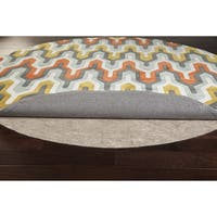 Ultra Premium Felted Reversible Dual Surface Non-Slip Rug Pad (8' x 10' Oval) - 8' x 10'/8' x 9'/8' X 11'