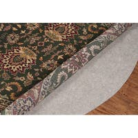 Standard Premium Felted Reversible Dual Surface Non-Slip Rug Pad (6' x 9' Oval) - Brown - 6' x 8'/6' x 10'/6' x 9'
