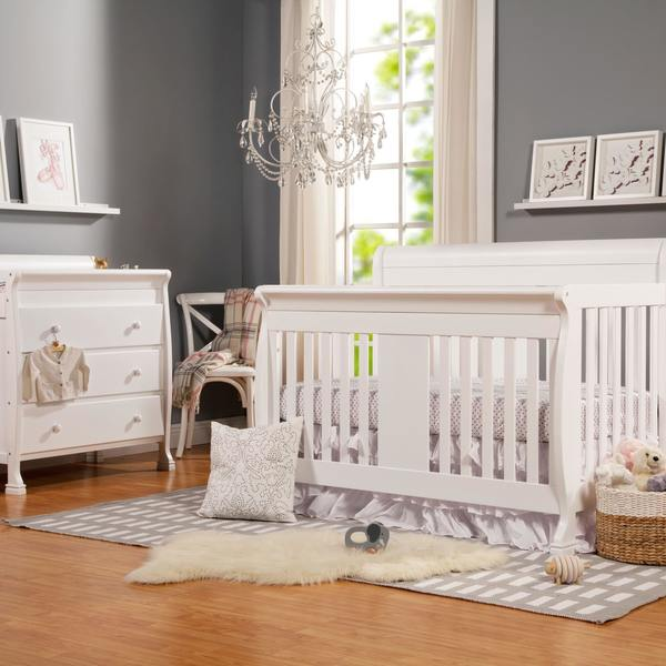 5 Cool Cribs That Convert To Full Beds: Shop DaVinci Porter 4-In-1 Convertible Crib With Toddler