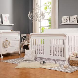 DaVinci Porter 4 In 1 Toddler Rail Convertible Crib