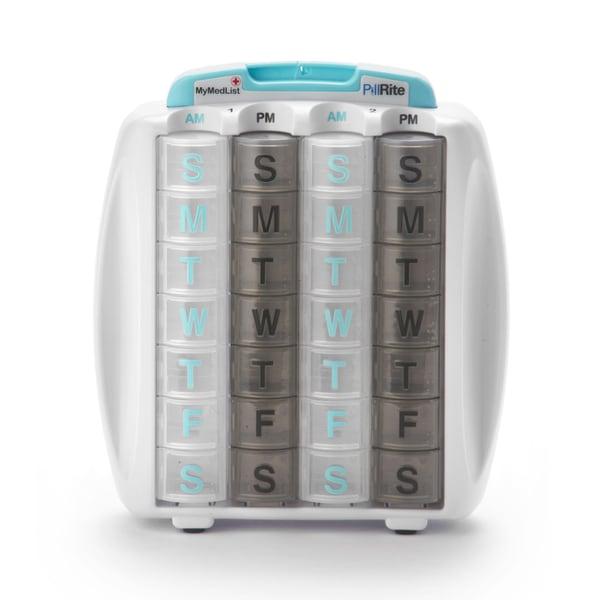 PillRite 1-Month Medication Pillbox Organizer