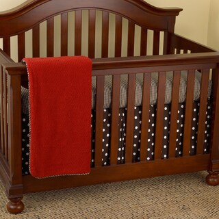 Cotton Tale Houndstooth 7-piece Crib Bedding Set
