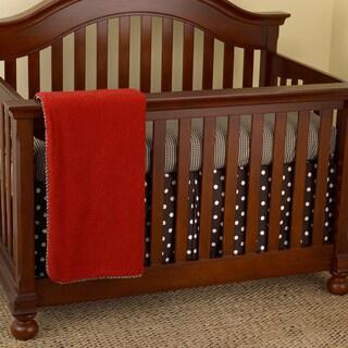 Cotton Tale Houndstooth 7-piece Crib Bedding Set