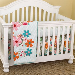 Cotton Tale Lizzie 7-piece Crib Bedding Set