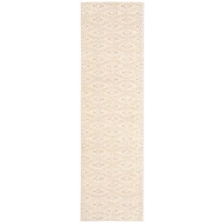 """Calvin Klein Nara Frost Ivory Area Rug by Nourison - 2'3""""x 8'"""