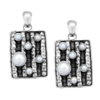 Hollywood Sterling Silver Pearl Pendant (4-10mm)