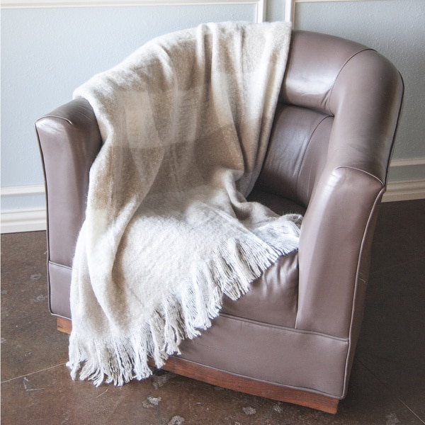 Grand Bazaar Canterbury Faux Cashmere Throw Blanket