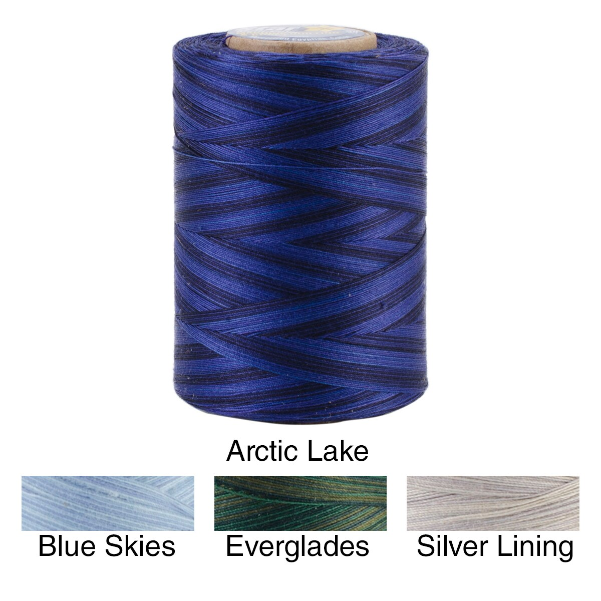 Coats and Clarks Star Mercerized Cotton Thread Variegated...