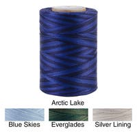 Star Mercerized Cotton Thread Variegated 1200 Yards - 1200 yd