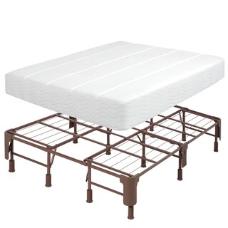 Comfort Memories Steel California King-size Mattress Foundation - N/A