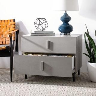 Safavieh Herschel Grey/ Black Storage Cabinet
