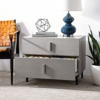 Safavieh Herschel Grey/ Black Storage Cabinet