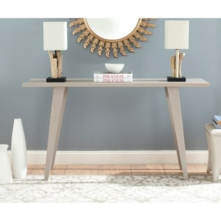 Safavieh Mid-Century Manny Grey Modern Console Table