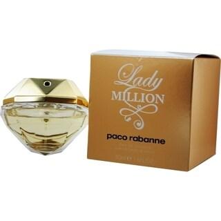 Paco Rabanne Lady Million Women's 1.7-ounce Eau de Toilette Spray