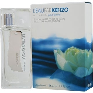 Kenzo Leau Par Kenzo Women's 1.7-ounce Eau de Toilette Spray (Metal Leaf Limited Edition)