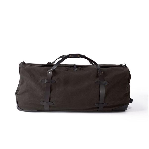 980fa00c7a52 Shop Filson Brown 34-inch XL Wheeled Duffle Bag - Free Shipping ...