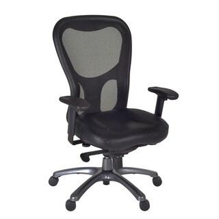 Citi Executive Black Mesh Swivel Arm Chair