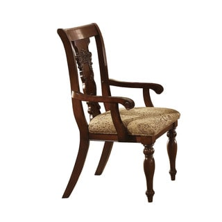 Furniture Of America Ella Dark Oak Side Chair Set Of 2
