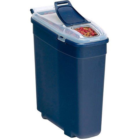 Bergan Smart Pet Navy Blue Food Storage Container