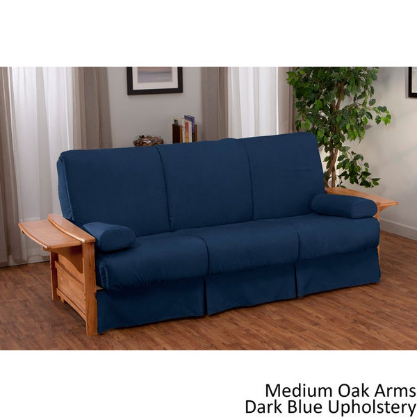 shop bellevue perfect sit sleep pillow top queen size futon sleeper sofa on sale free. Black Bedroom Furniture Sets. Home Design Ideas