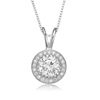 Collette Z Sterling Silver Cubic Zirconia Round Necklace|https://ak1.ostkcdn.com/images/products/8975692/Collette-Z-Sterling-Silver-Cubic-Zirconia-Round-Necklace-P16183392.jpg?impolicy=medium