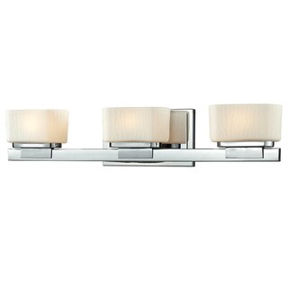 Avery Home Lighting Gaia 3-light Chrome Vanity Light