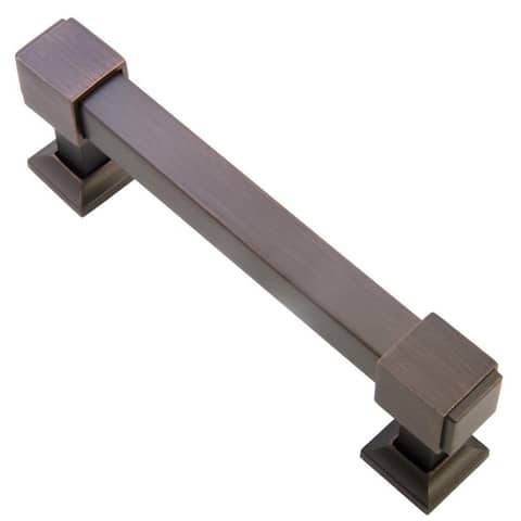 Southern Hills Oil Rubbed Bronze Cabinet Pull 'Cedarbrook' (Pack of 5)