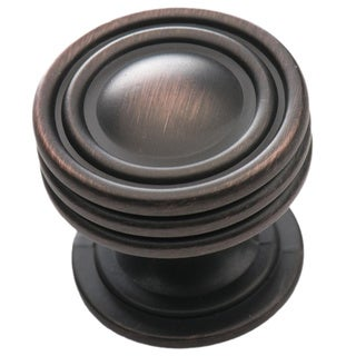 Southern Hills Oil Rubbed Bronze Cabinet Knob 'Lamonta' (Pack of 5)