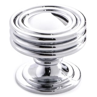Southern Hills Polished Chrome Cabinet Knob 'Lamonta' (Pack of 5) (As Is Item)