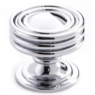 Southern Hills Polished Chrome Cabinet Knob 'Lamonta' (Pack of 10)