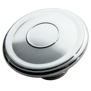Southern Hills Polished Chrome Cabinet Knob 'Edgewater' (Pack of 5) (As Is Item)