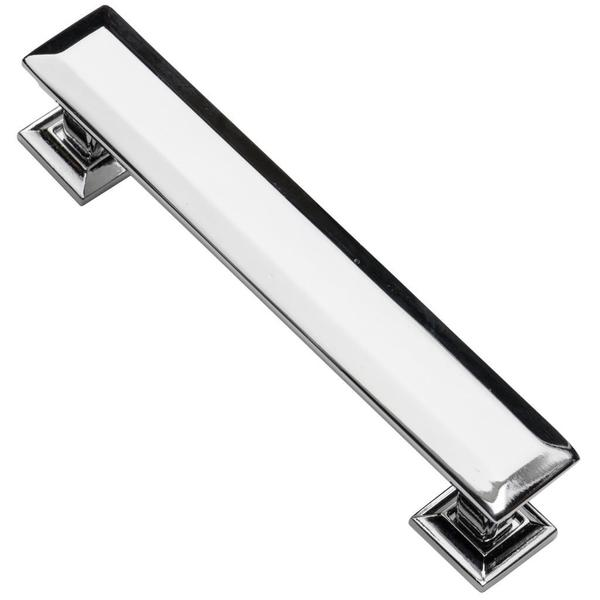 Southern Hills Polished Chrome Cabinet Pull 'Englewood' (Pack of 5) - Silver
