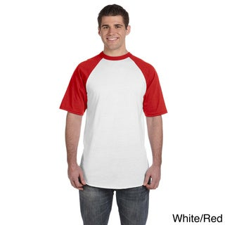 Augusta Sportswear Men's 50/50 Short Sleeve Raglan T-shirt