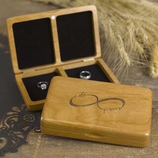 Hortense B. Hewitt Infinity Wooden Ring Box