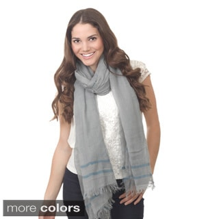 Striped Design Scarf