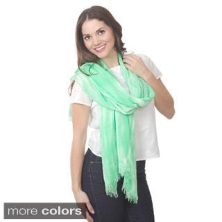 Tie Dye Design Shawl