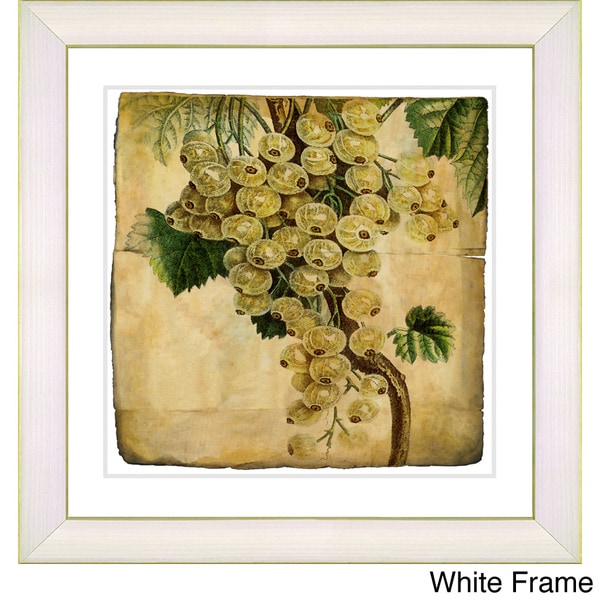 Zhee Singer 'Vintage Botanical No 09 - Antiqued' Framed Fine Art Print