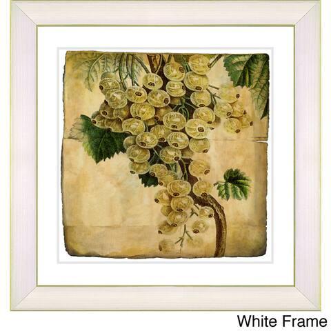 Zhee Singer 'Vintage Botanical No 09 - Antiqued' Framed Fine Art Print