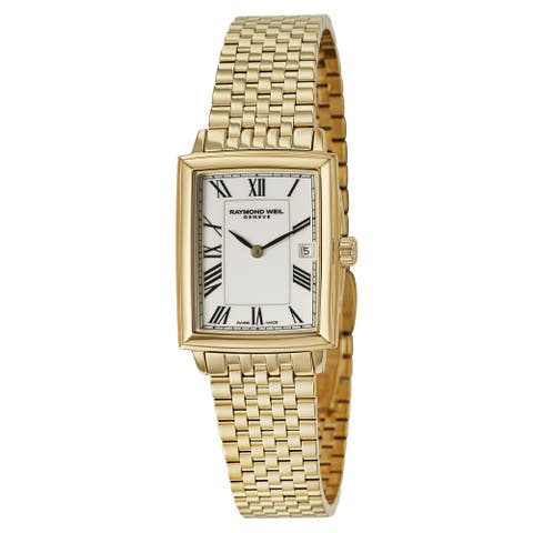 Raymond Weil Women's 'Tradition' Goldtone Dress Watch