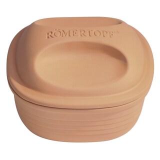 Romertopf Glazed Square Casserole Clay Cooker