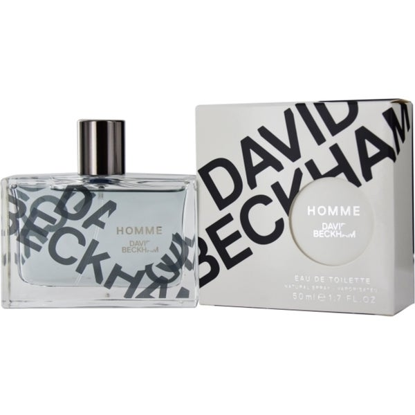 David Beckham Homme Men's 1.7-ounce Eau de Toilette Spray