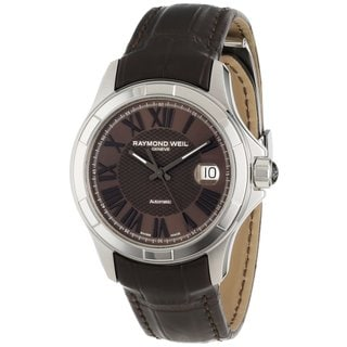 Raymond Weil Men's 'Parsifal' Brown Automatic Watch