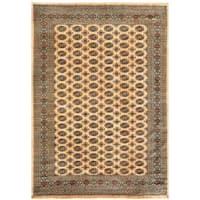 Handmade Herat Oriental Pakistani Bokhara Wool Rug (Pakistan) - 8' x 9'10