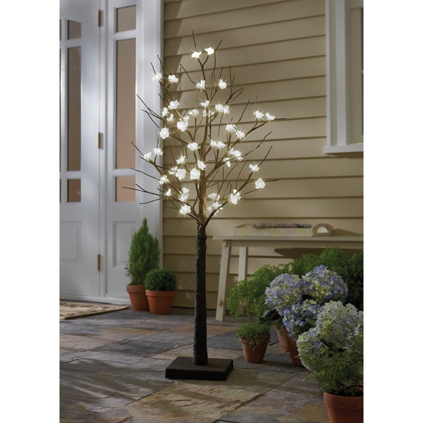 Order Home Collection LED 4ft Cherry Blossom Tree